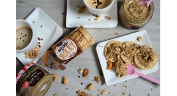 Sbírejte kódy produktů Racio - získáte za ně další másla Nutspread :)