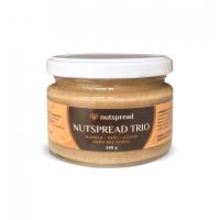 100% oříškové máslo Nutspread Trio: Kešu - kokos - mandle