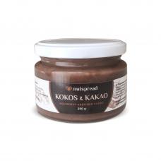 100% kokosové máslo Nutspread s kakaem