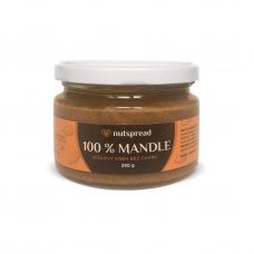 100% mandlové máslo Nutspread