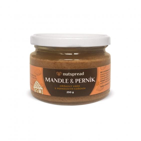 100% mandlové máslo Nutspread s perníkovým kořením
