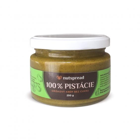 100% pistáciové máslo Nutspread