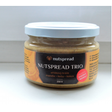 Limitovaná edice: Nutspread Trio s křupavými mandlemi - akce Black Friday!
