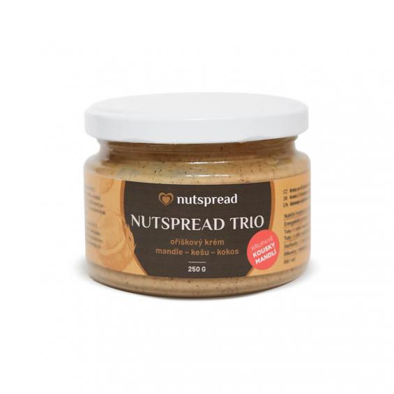 Limitovaná edice: Nutspread Trio s křupavými mandlemi