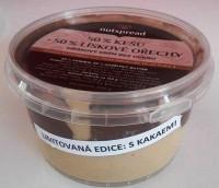 Limitovaná edice: 50% lískooříškové máslo s kakaem + 50% kešu máslo 250 g - VYPRODÁNO