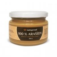 100% arašídové máslo Nutspread 250 g