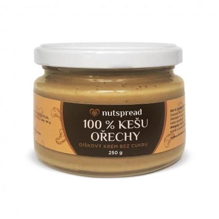100% kešu máslo Nutspread 250 g