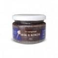 100% kokosovo - makové máslo Nutspread 250 g