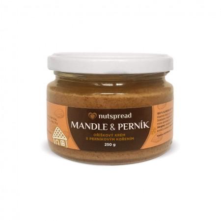 100% mandlové máslo Nutspread s perníkovým kořením 250 g - VYPRODÁNO